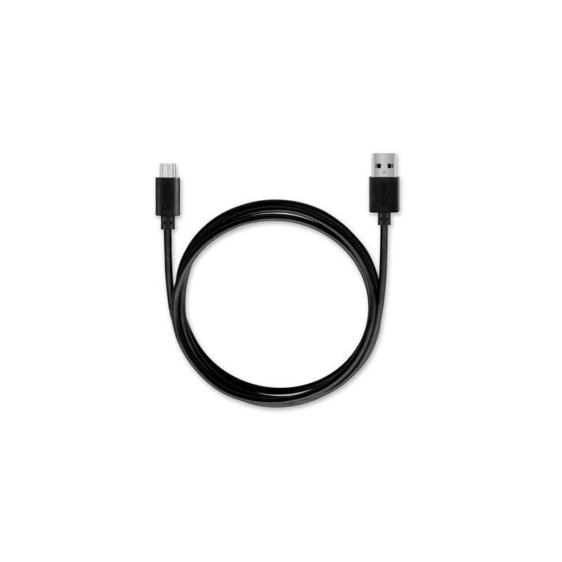 Acme CH211 2.4A + Micro USB kábel, univerzális USB fekete hálózati töltő. q6Waw8