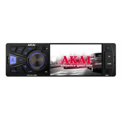 Fotografie Radio MP3 Player auto Akai CA015A-4108S, display 4 inch,bluetooth, 4x25W, bluetooth, USB, SD, telecomanda