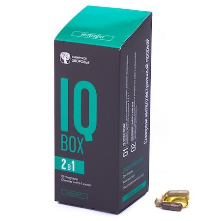IQBox Multivitamine si minerale, 60 capsule