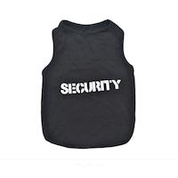 """Tricou pentru caini Mark.B7 """"Security"""", Negru, 35 cm"""