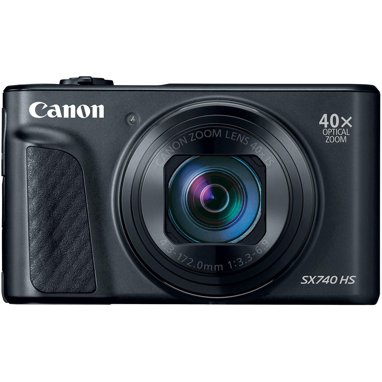 Fotografie Aparat foto digital Canon Powershot SX740HS, 20.3MP, 4K, Negru
