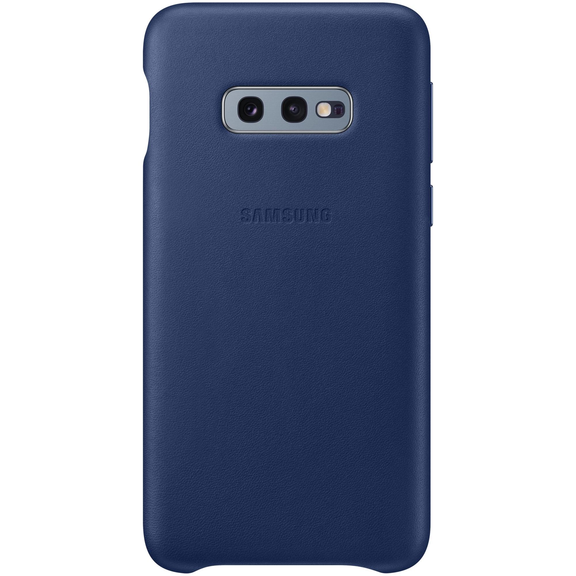 Fotografie Husa de protectie Samsung Leather pentru Galaxy S10e G970, Navy