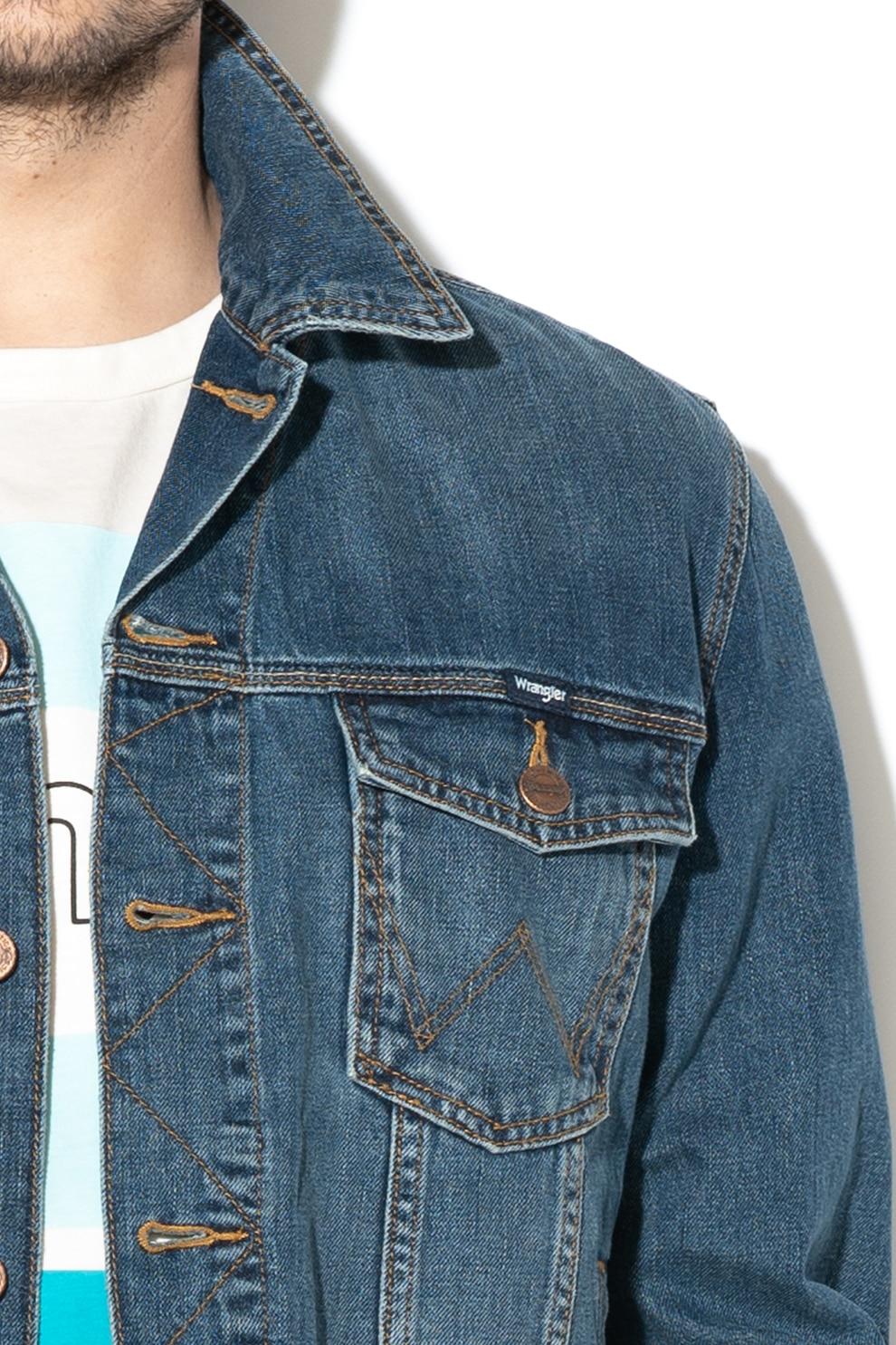 Vásárlás: Wrangler Farmerdzseki kék L Férfi kabát
