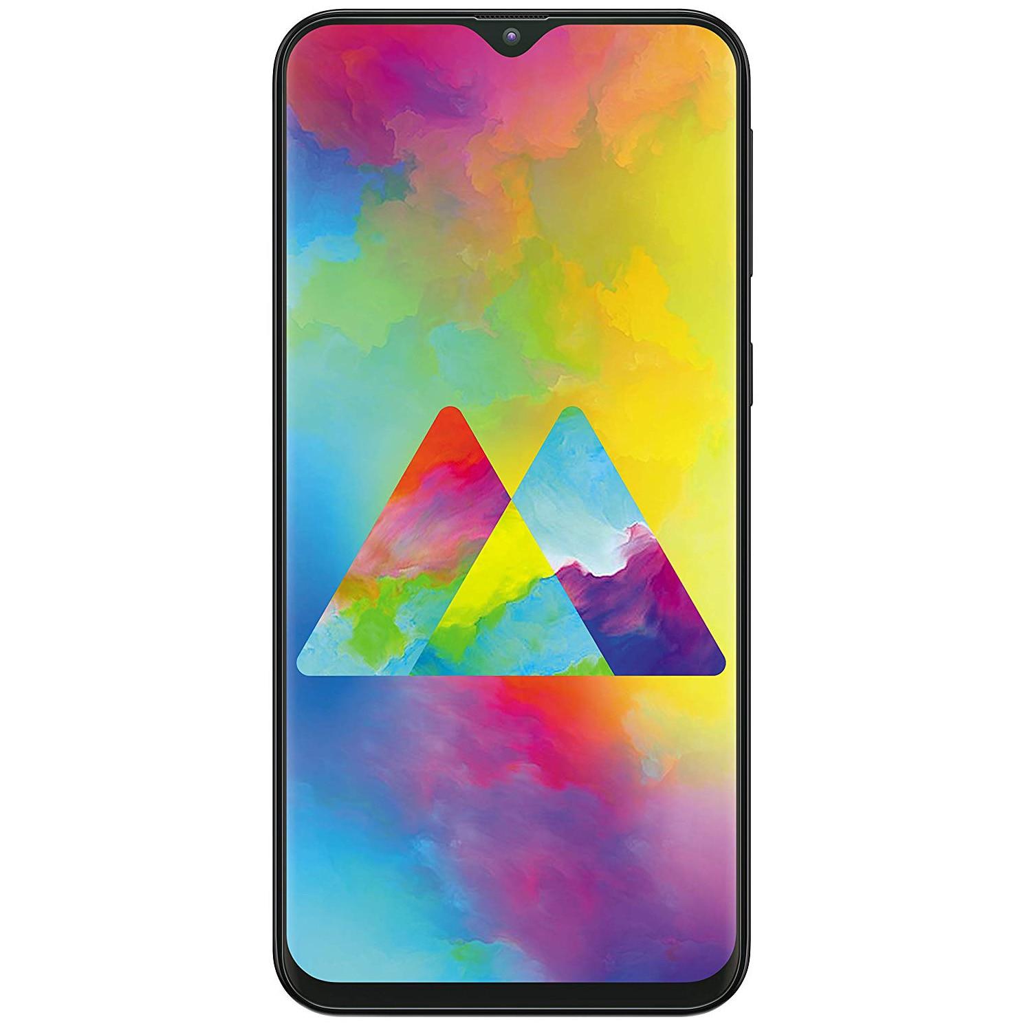 Fotografie Telefon mobil Samsung Galaxy M20, Dual SIM, 64GB, 4G, Charcoal Black