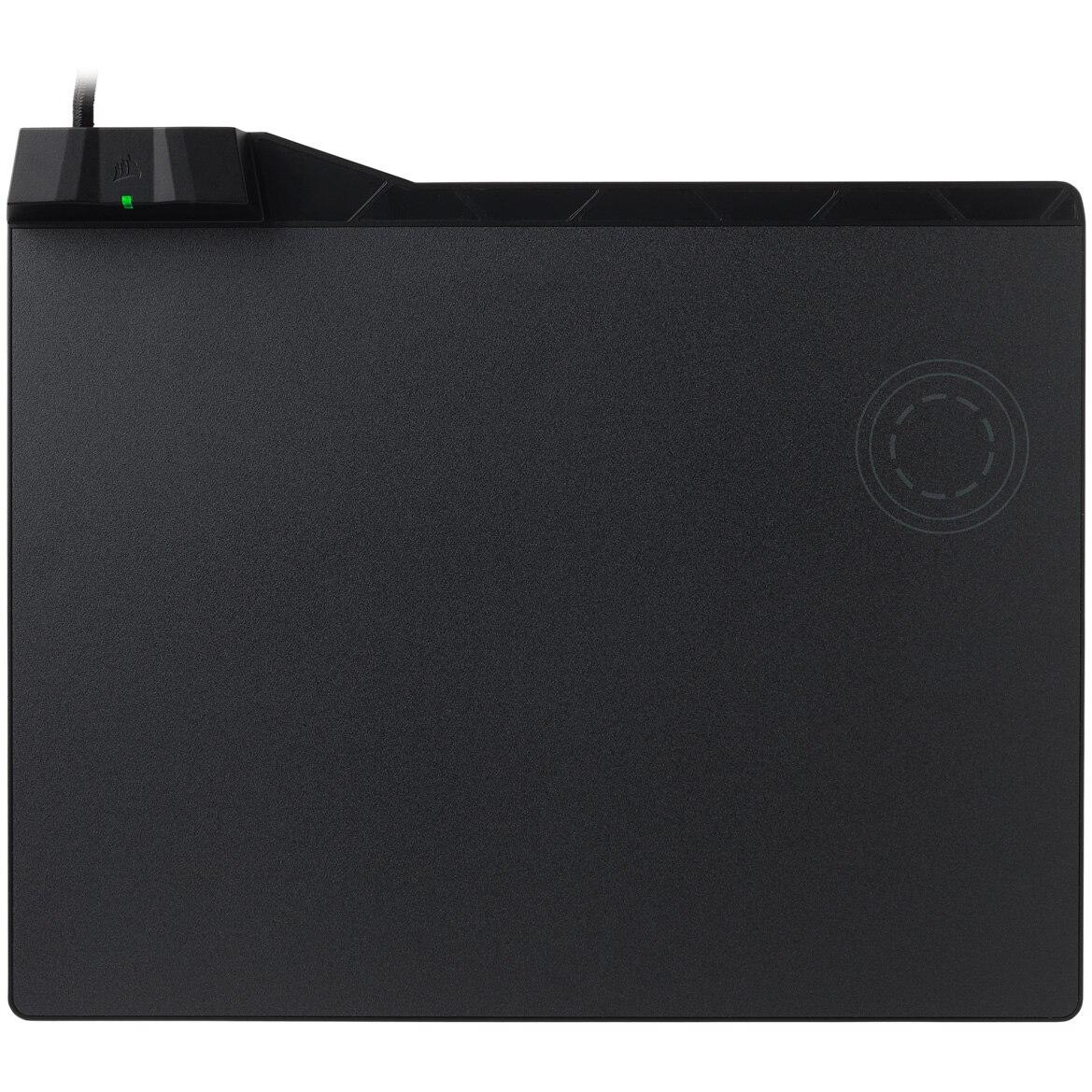 Fotografie Mousepad gaming Corsair MM1000, incarcare wireless Qi