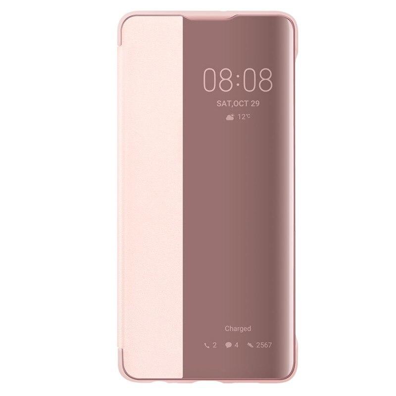 Fotografie Husa de protectie Huawei Smart View Flip pentru P30, Pink