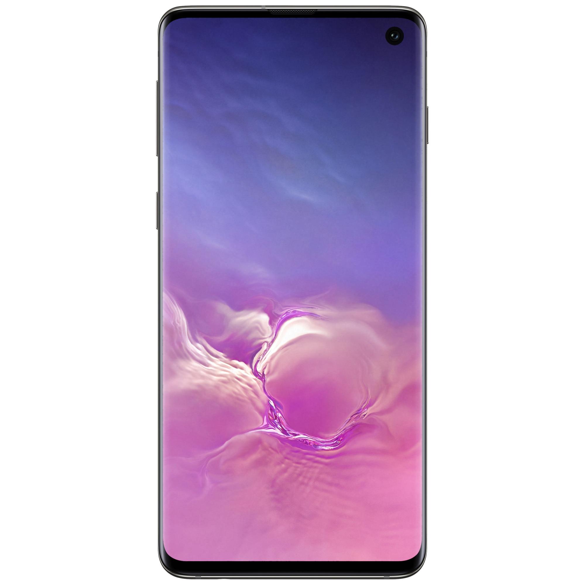 Fotografie Telefon mobil Samsung Galaxy S10, Dual SIM, 128GB, 8GB RAM, 4G, Black