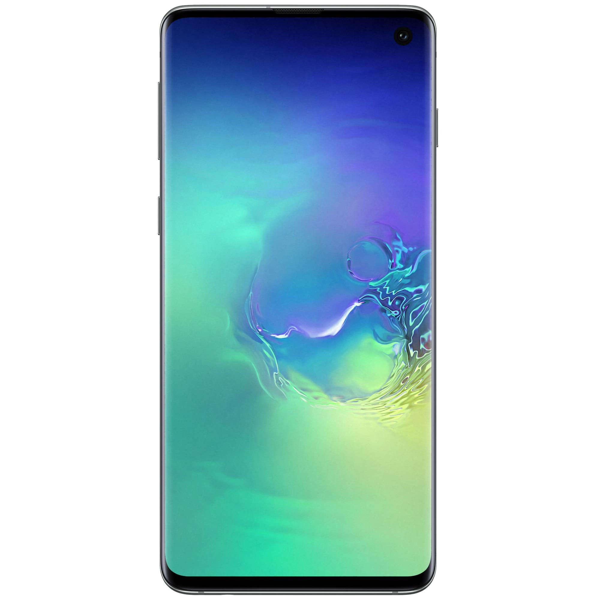 Fotografie Telefon mobil Samsung Galaxy S10, Dual SIM, 128GB, 8GB RAM, 4G, Green
