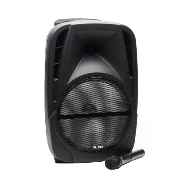 Fotografie Boxa portabila Freeman Karaoke 1001, Bluetooth, Negru