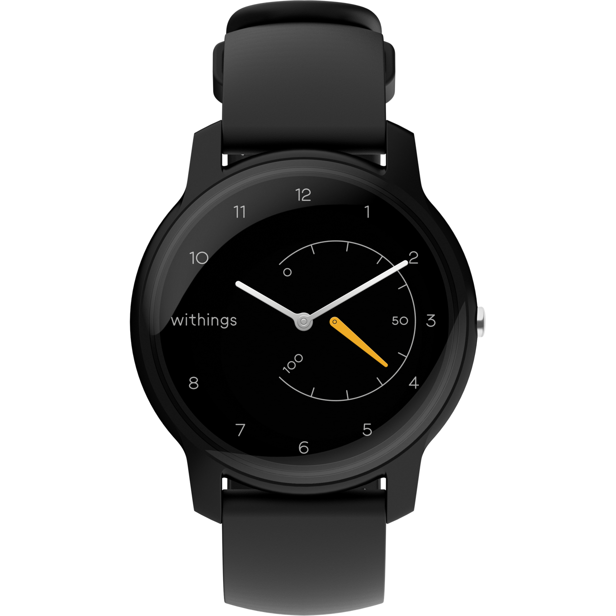 Fotografie Ceas smartwatch Withings Move, Black/Yellow