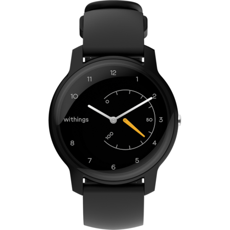 Часовник Smartwatch Withings Move, Black/Yellow