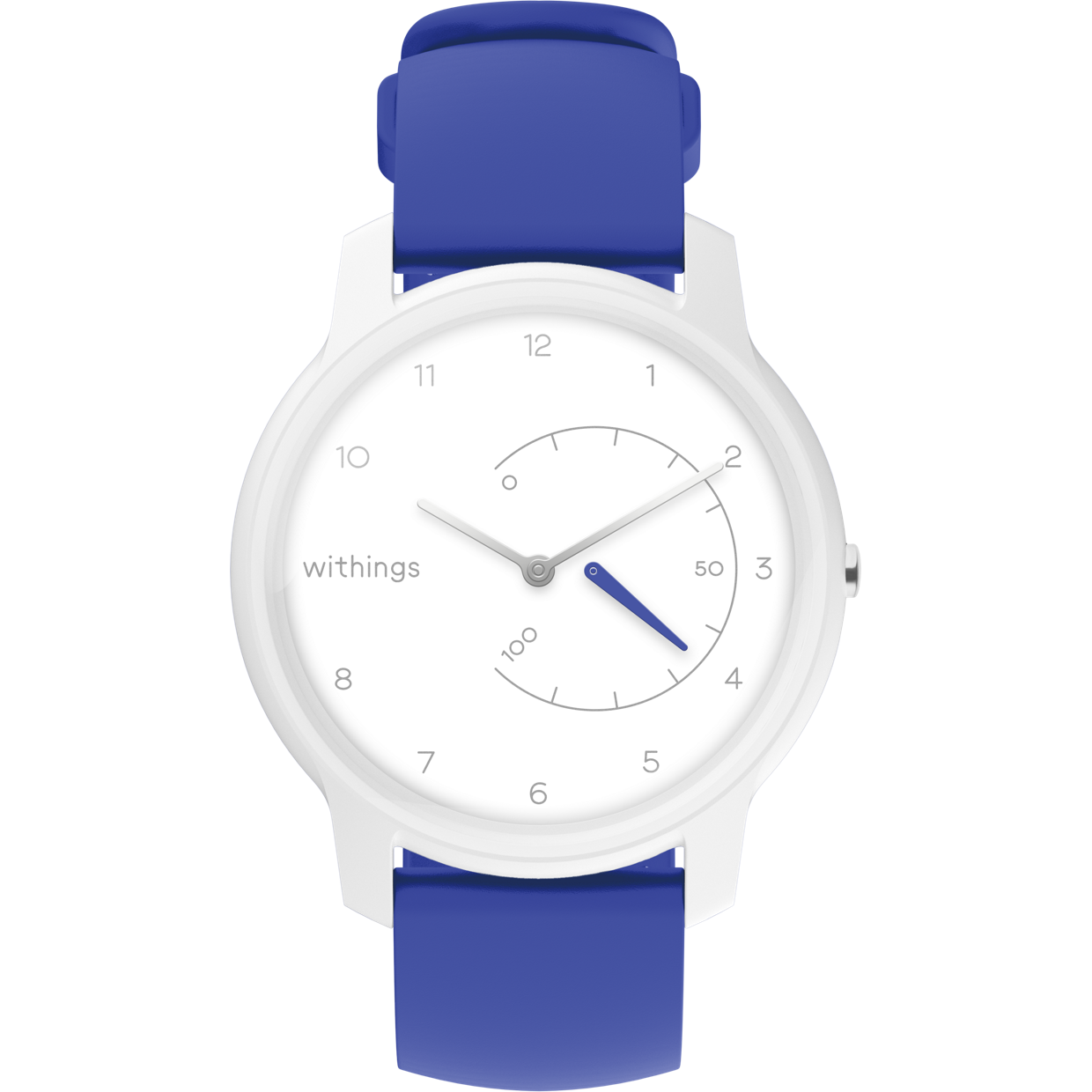 Fotografie Ceas smartwatch Withings Move, White/Blue