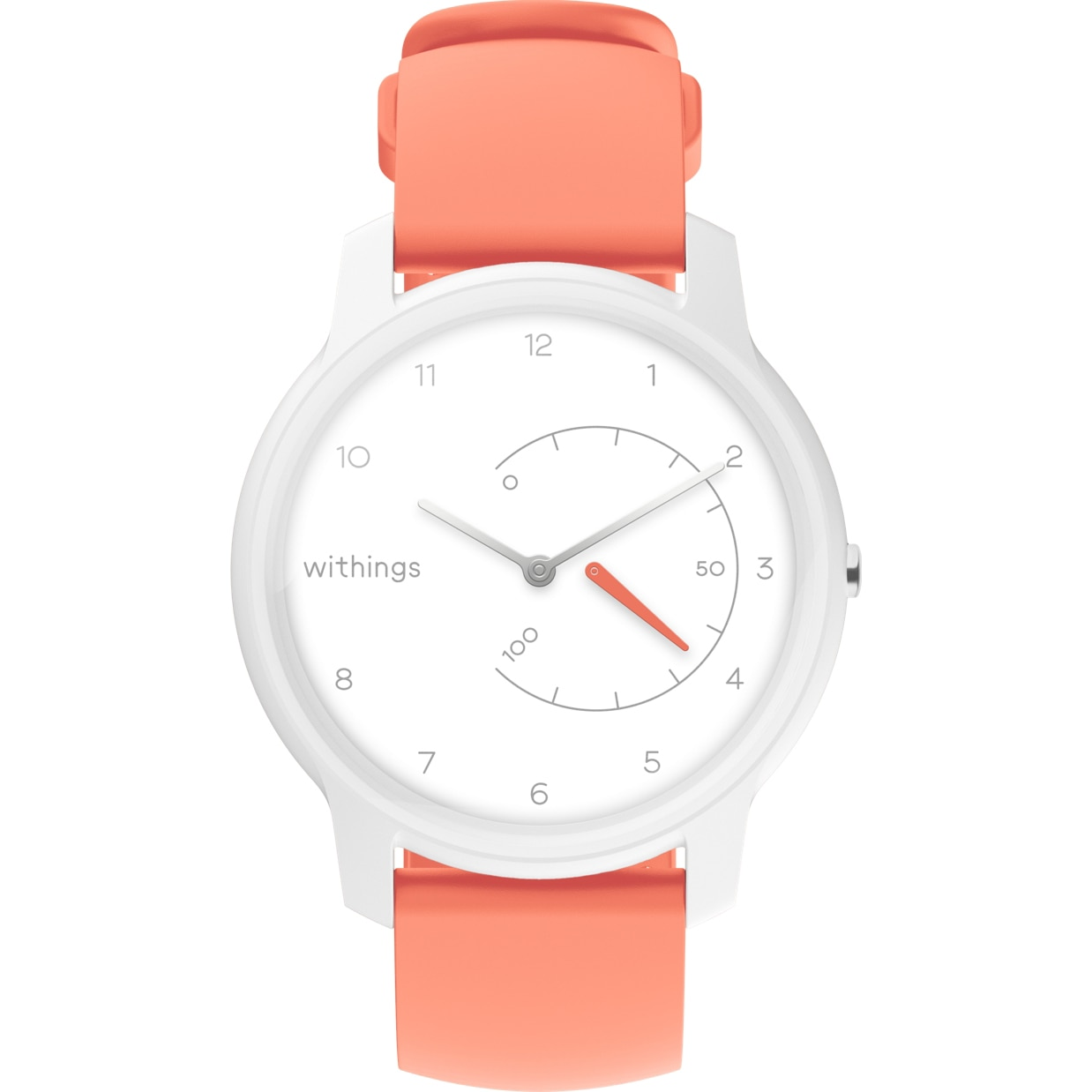 Fotografie Ceas smartwatch Withings Move, White/Coral