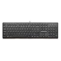 Tastatura Modecom MC-5006, Neagra, USB, Multimedia