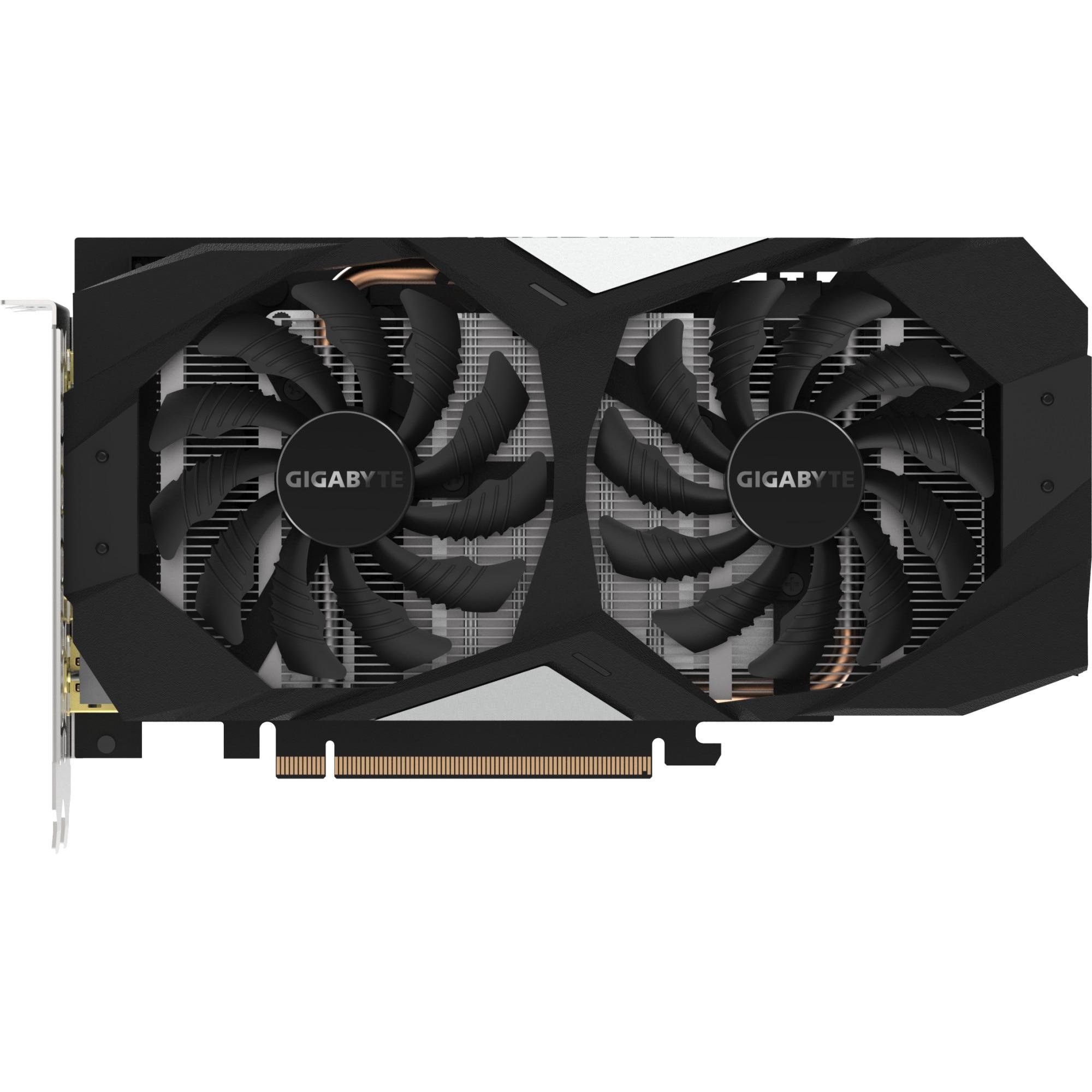 Fotografie Placa video Gigabyte GeForce GTX 1660 OC, 6GB GDDR5, 192-bit