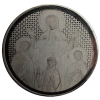 Монета от чисто сребро Св. мъченици Вяра, Надежда, Любов и тяхната майка София