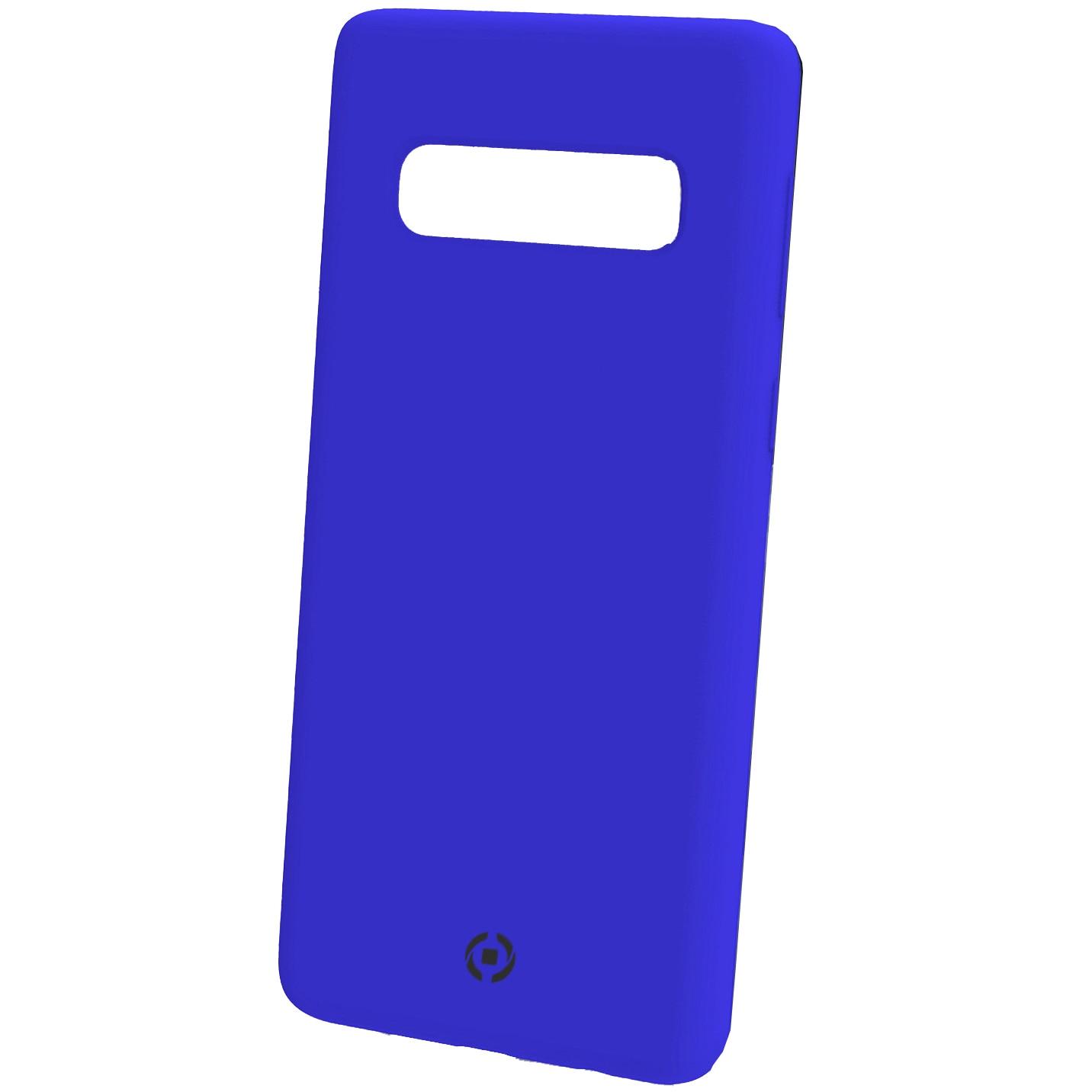 Fotografie Husa de protectie Celly Feeling pentru Samsung Galaxy S10 Plus, Albastru