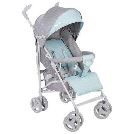 Детска количка Lionelo Irma, Спортна, Сив/Зелен