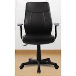 Kring Macao Irodai szék, Műbőr, Fekete