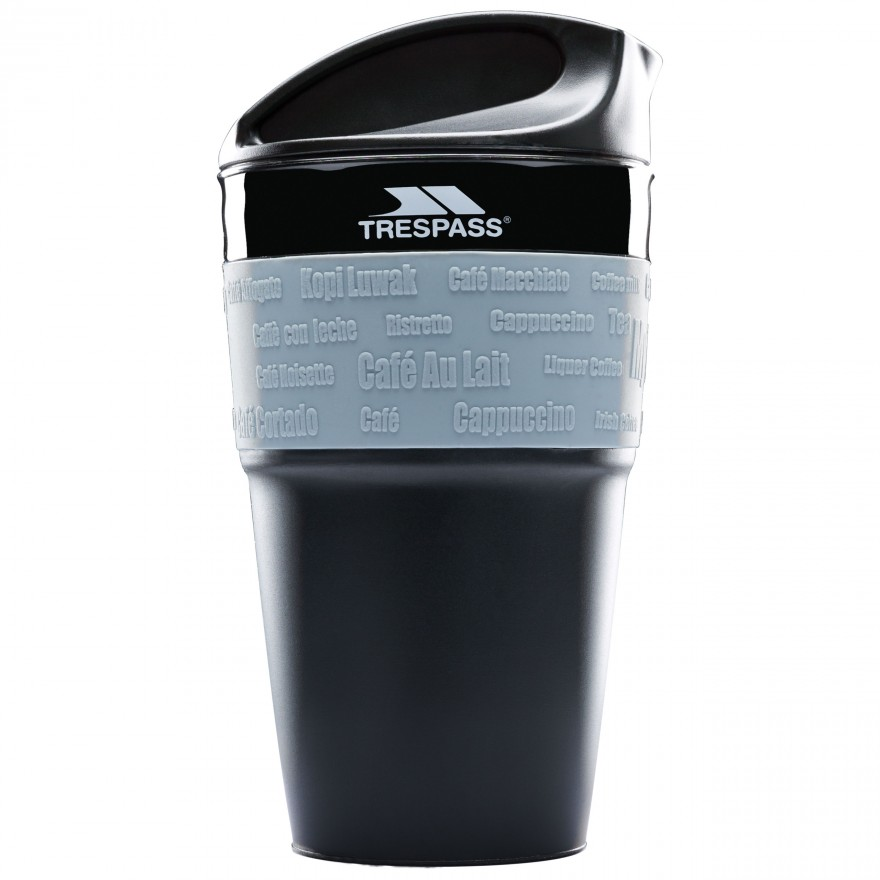 Fotografie Cana pliabila Trespass Coffee Pop, 335ml, Black