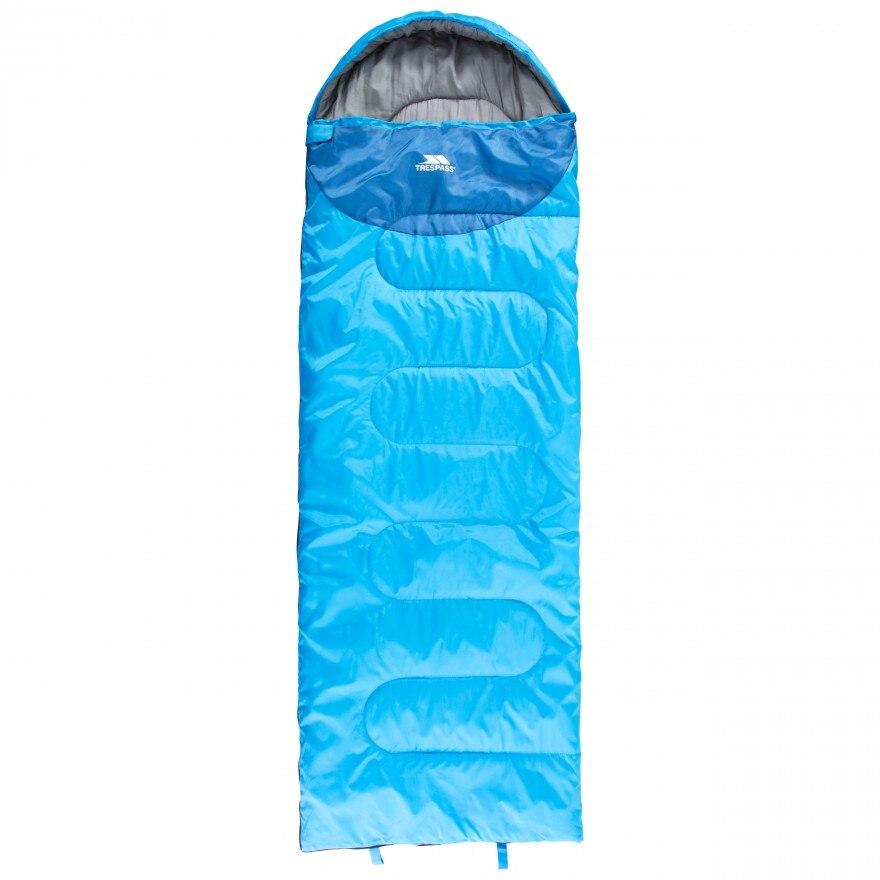 Fotografie Sac de dormit Trespass Snooze, 2 sezoane, Blue, 220x75cm