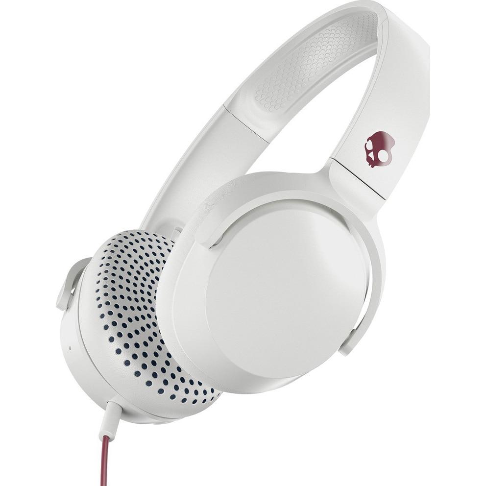 Fotografie Casti audio On-Ear Skullcandy Riff, microfon, Alb