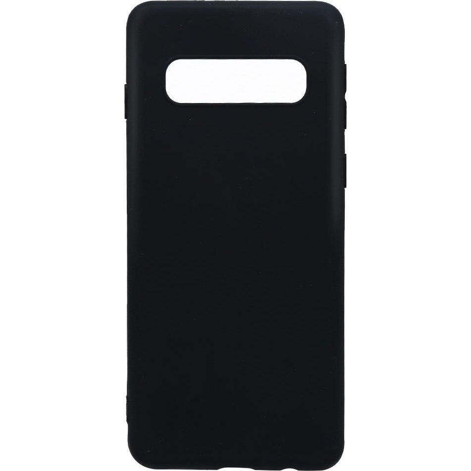 Fotografie Husa de protectie Lemontti Silky pentru Samsung Galaxy S10 G973, Black