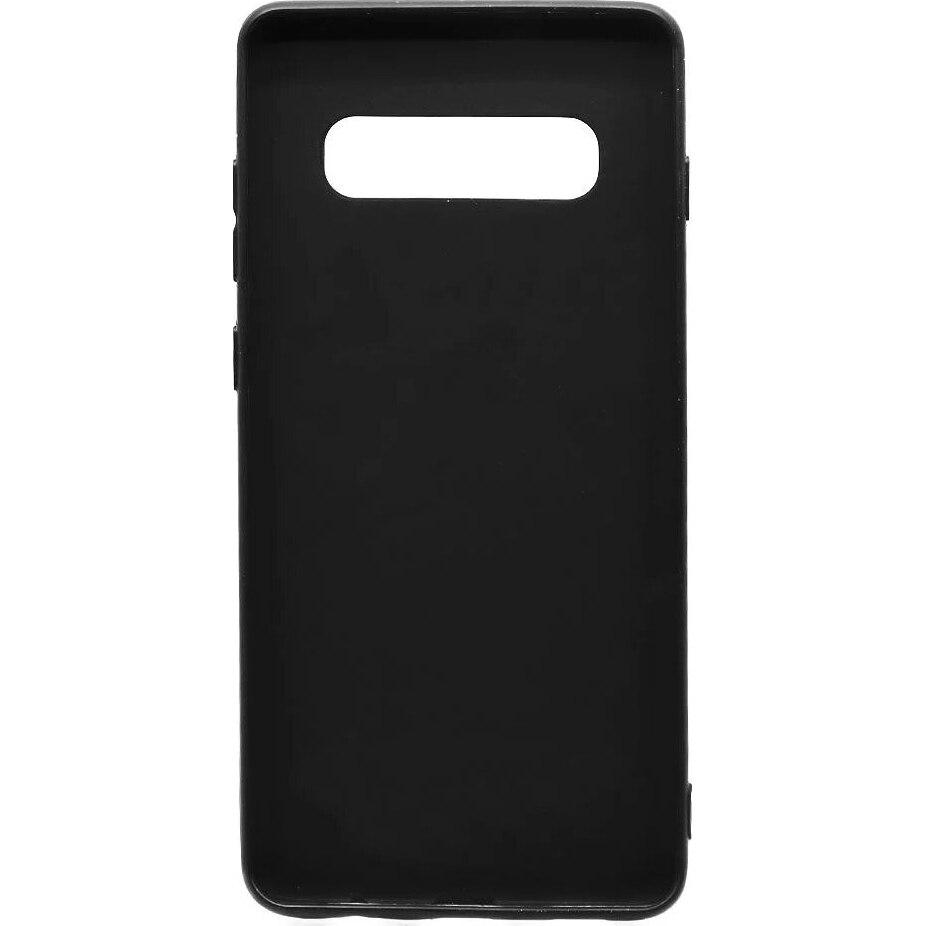Fotografie Husa de protectie Lemontti Silky pentru Samsung Galaxy S10 Plus G975, Black
