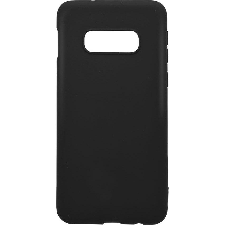 Fotografie Husa de protectie Lemontti Silky pentru Samsung Galaxy S10e G970, Black