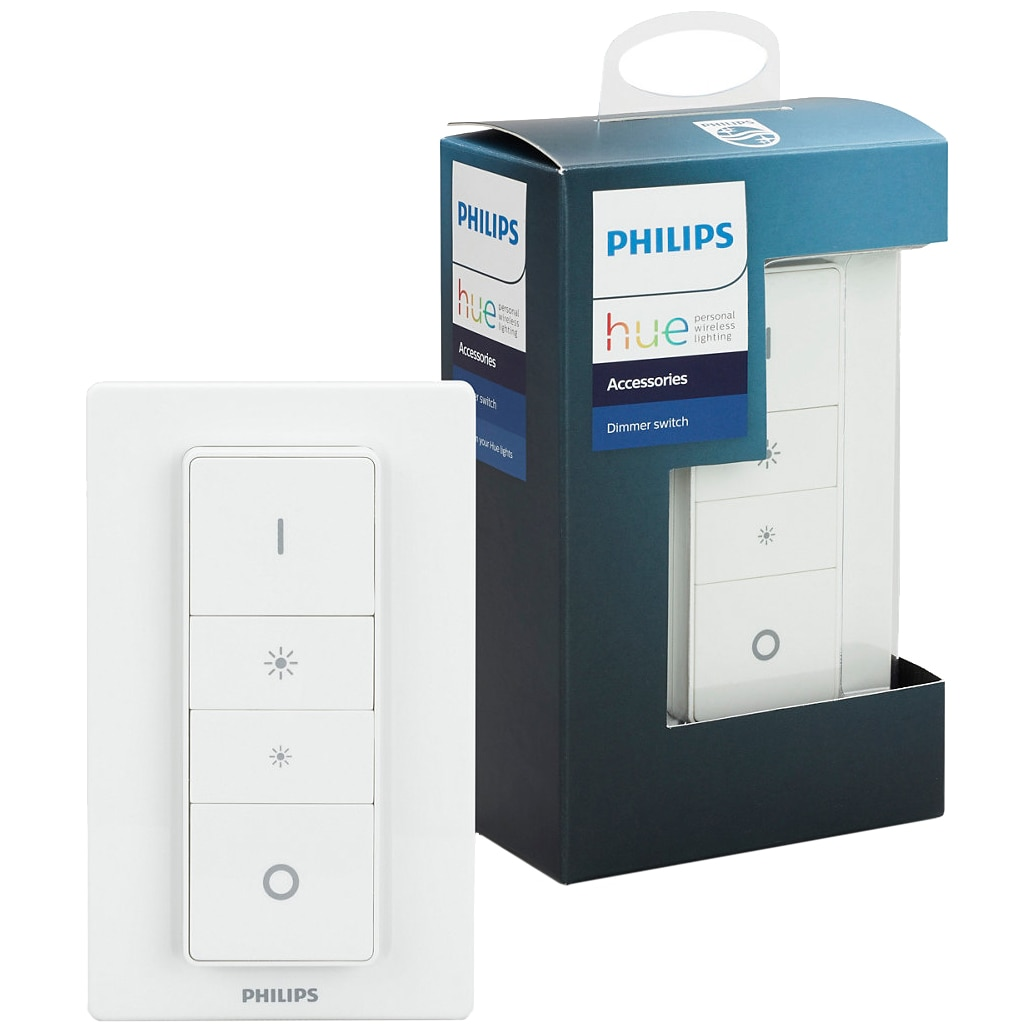 Fotografie Intrerupator cu variator Philips Hue, Wireless, ZigBee