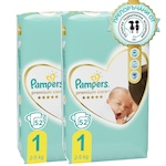 Пелени Pampers Premium Care 1 Jumbo Pack Новородени, 2-5 кг, 104 броя