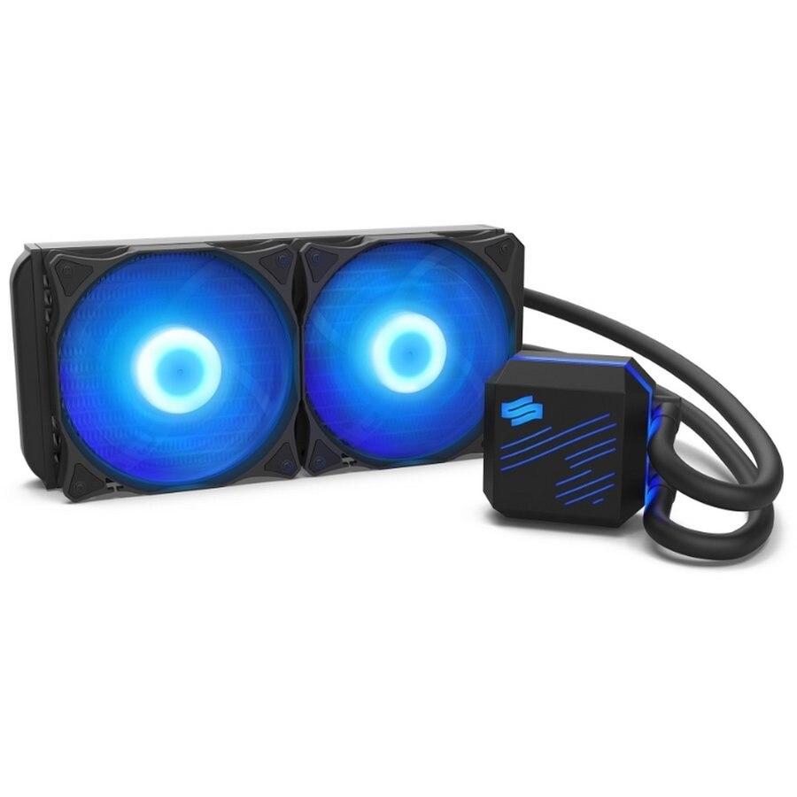 Fotografie Cooler Procesor SilentiumPC Navis RGB 240 AIO, compatibil Intel/AMD