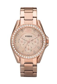 Fossil, Ceas cu functii multiple si cristale Riley