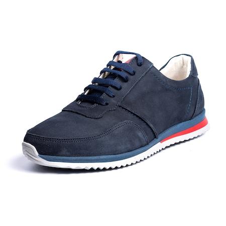 Pantofi sport, Pas, Urban Sneakers, Albastru Nabuc, Marime 40 EU, Piele Naturala