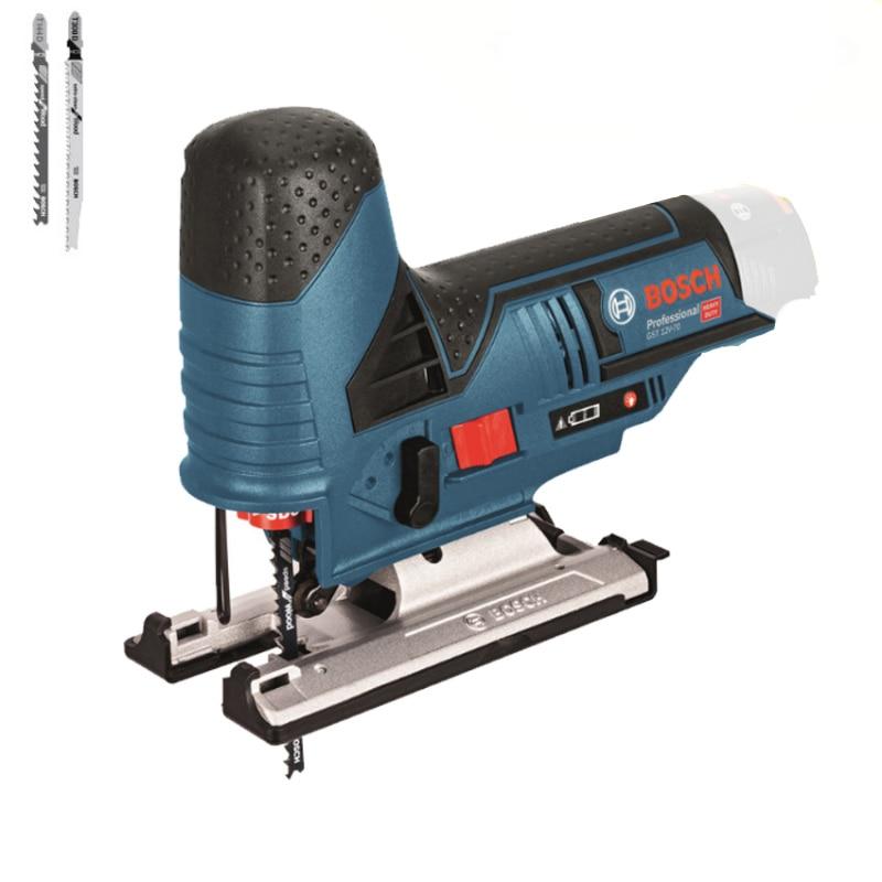 Fotografie Fierastrau pendular pe acumulator Bosch Professional GST 12V-70 Solo, 12 V, 2800 curse/min, 70 mm adancire maxima taiere, accesorii incluse