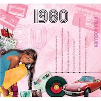 CD картичка с хитове от 1980 година