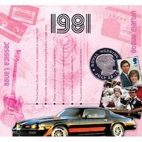 CD картичка с хитове от 1981 година