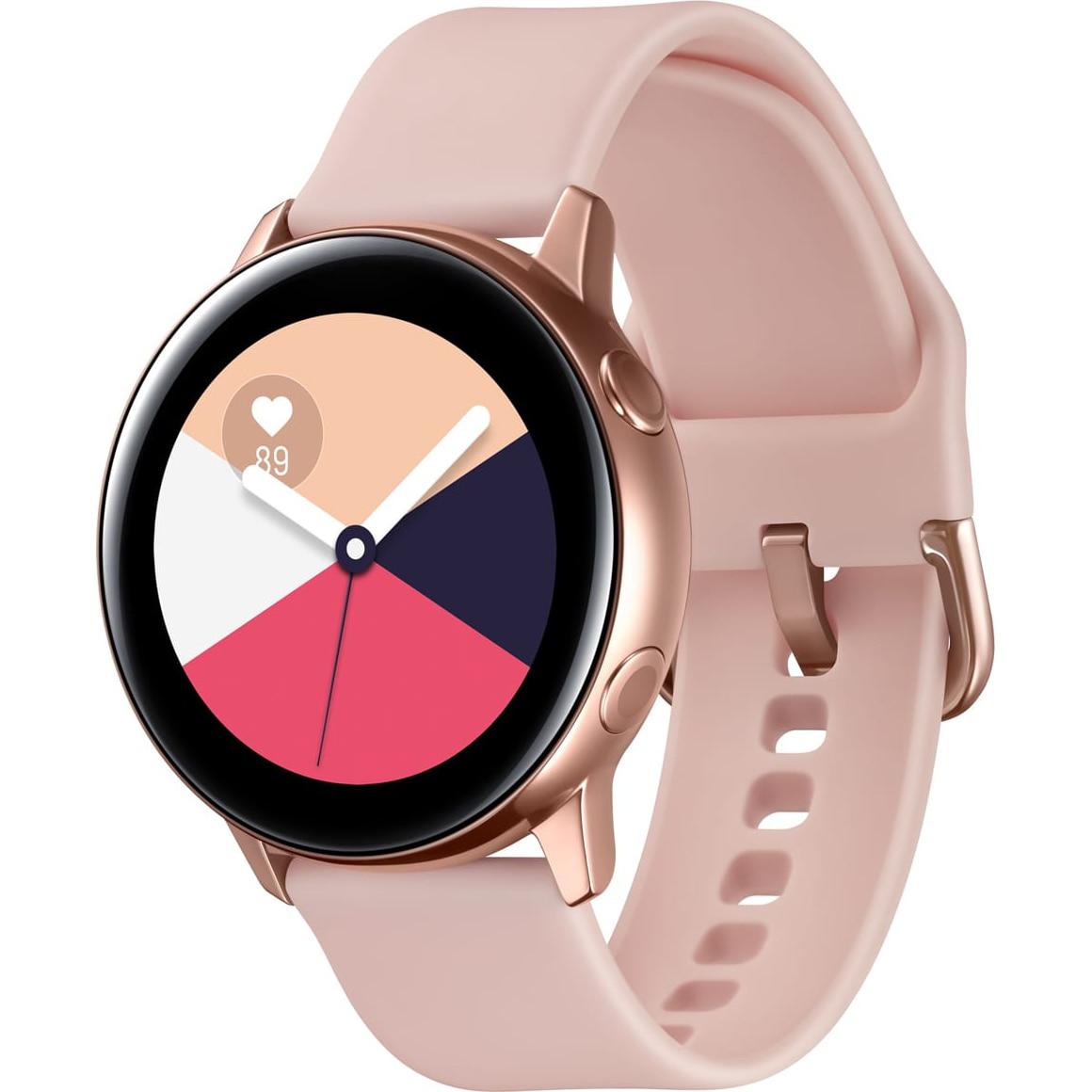 Fotografie Ceas smartwatch Samsung Galaxy Watch Active, Rose Gold
