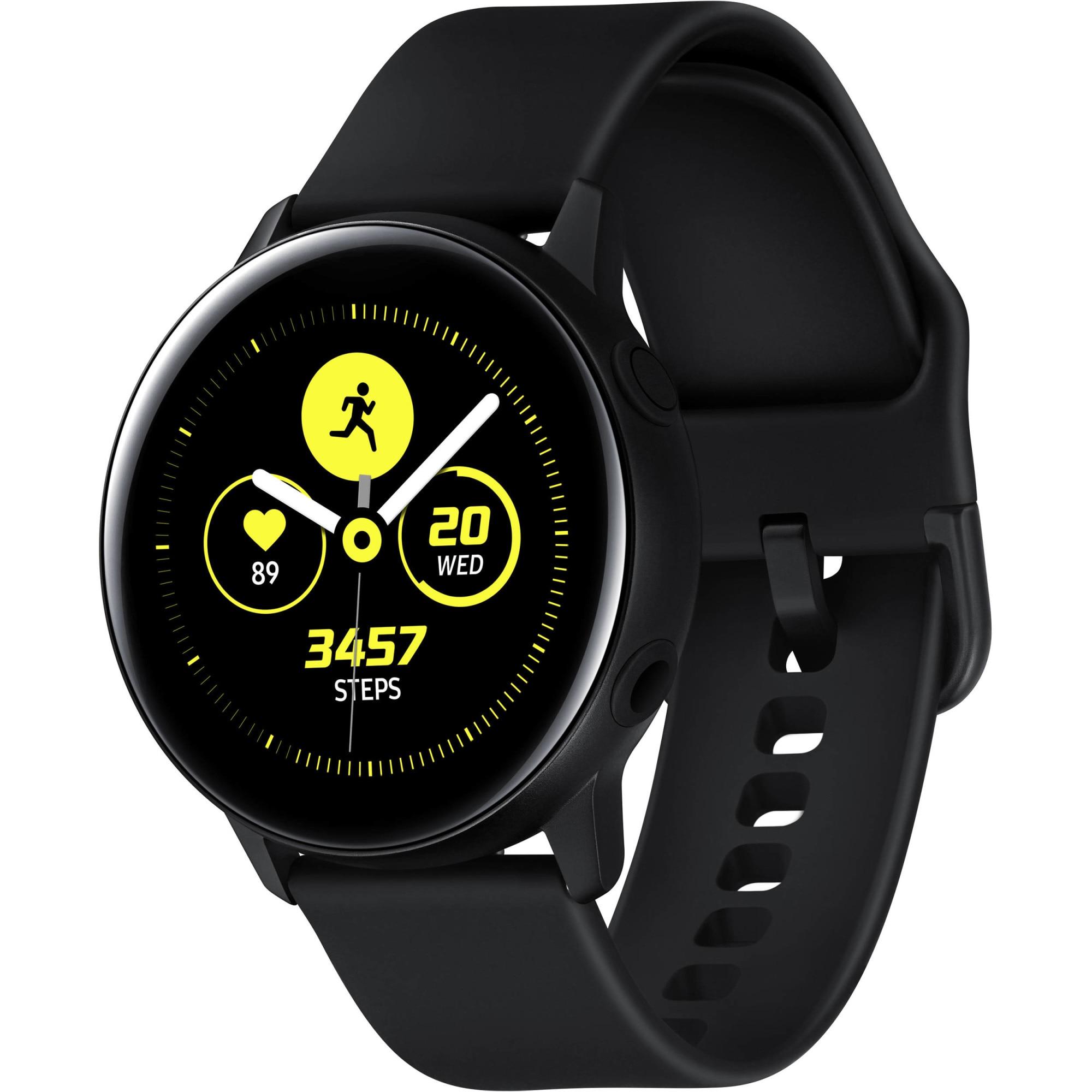 Fotografie Ceas smartwatch Samsung Galaxy Watch Active, Black