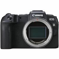 Фотоапарат Mirrorless Canon EOS RP, Full-Frame, 26.2 MP, 4K, Wi-Fi, Body, Черен + Адаптер RF-EF