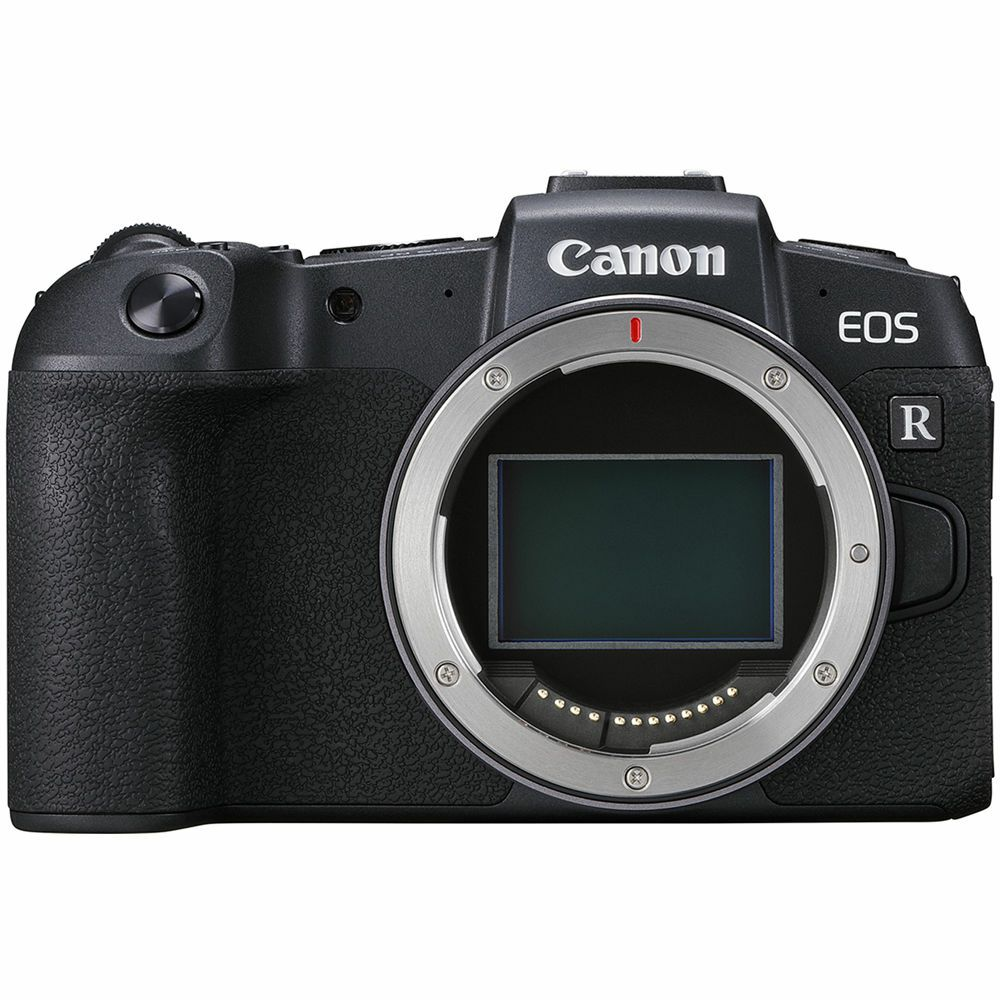 Fotografie Aparat foto Mirrorless Canon EOS RP, Full-Frame, 26.2 MP, 4K, Wi-Fi, Body, Negru + Adaptor RF-EF