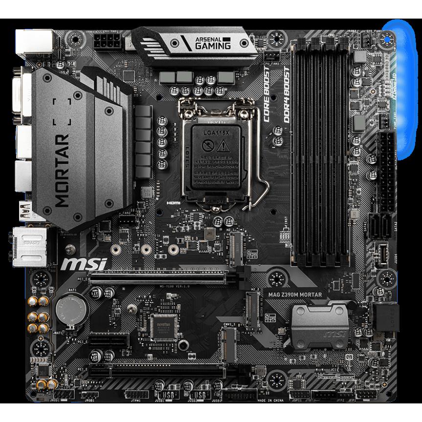Fotografie Placa de baza MSI MAG Z390M MORTAR, socket 1151