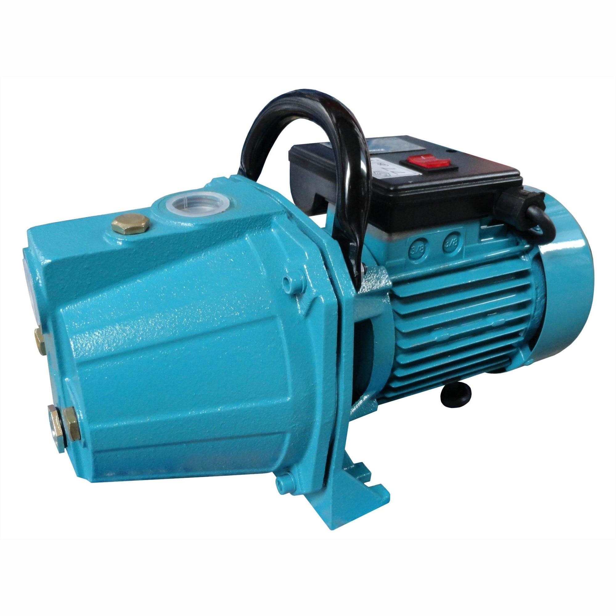 Fotografie Pompa apa Wasserkonig Eco WKE8-44, 900 W, 3000 l/h debit apa, 4.4 bar presiune maxima, 44 m inaltime refulare, 8 m adancime absorbtie
