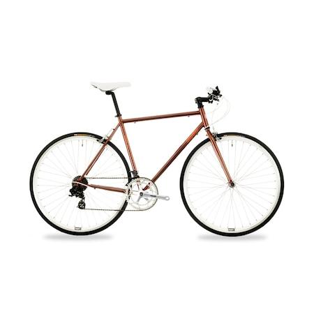 Csepel Torpedo 3* férfi fixi kerékpár - barna - 51 cm
