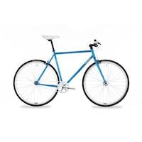 Csepel Royal 3* férfi fixi kerékpár - kék - 52 cm