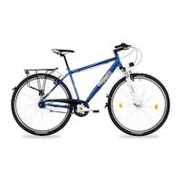 Csepel Spring 200 N7 férfi trekking kerékpár - kék - 21