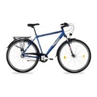Csepel Spring 100 N3 férfi trekking kerékpár - kék - 19