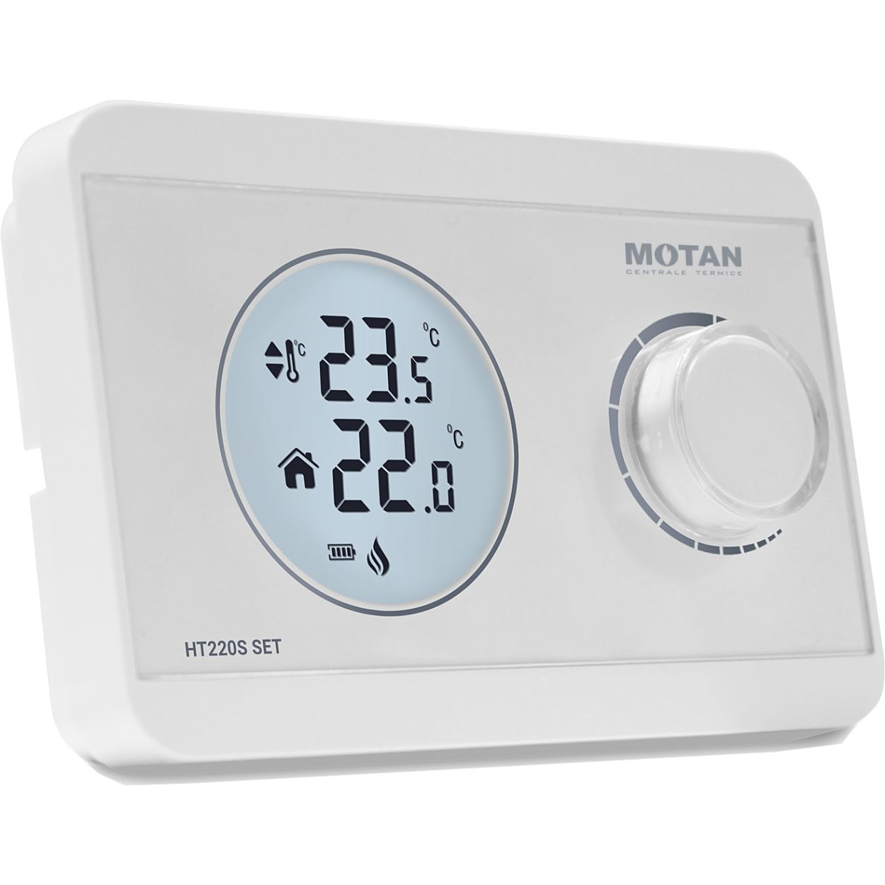 Fotografie Termostat de ambient wireless neprogramabil Motan HT-220 SET