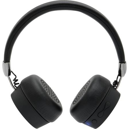 Аудио слушалки A+ SBG5, Bluetooth, Черни