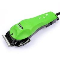 Машинка за подстригване на домашни любимци Zoofari Pet, 4 приставки, Зелен